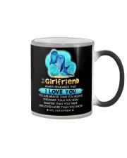 Dolphin Girlfriend Love You Color Changing Mug thumbnail