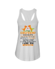Dinosaur Girlfriend Love Made Us Forever Together  Ladies Flowy Tank thumbnail
