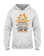 Dinosaur Girlfriend Love Made Us Forever Together  Hooded Sweatshirt thumbnail