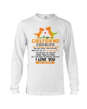 Dinosaur Girlfriend Love Made Us Forever Together  Long Sleeve Tee thumbnail
