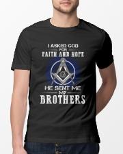 Freemasons Brothers Classic T-Shirt lifestyle-mens-crewneck-front-13