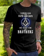 Freemasons Brothers Classic T-Shirt lifestyle-mens-crewneck-front-7
