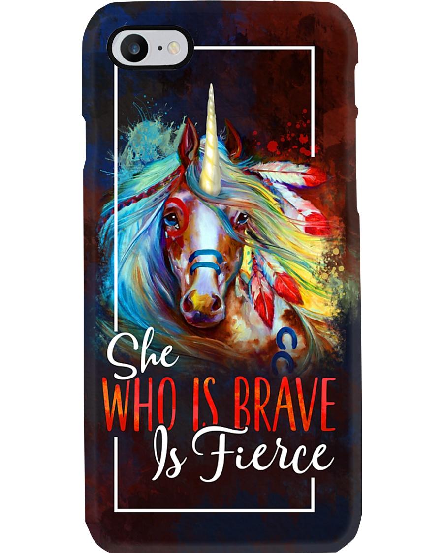 Brave And Fierce Unicorn Phone Case