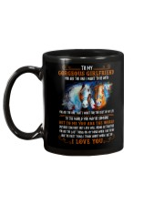 Horse Girlfriend To Me You Are The World Mug back