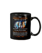 Horse Girlfriend To Me You Are The World Mug front