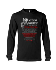 Wolf Dad Daughter Stay Strong  Mug Long Sleeve Tee tile