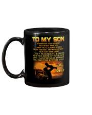 Trucker to my son mug Mug back
