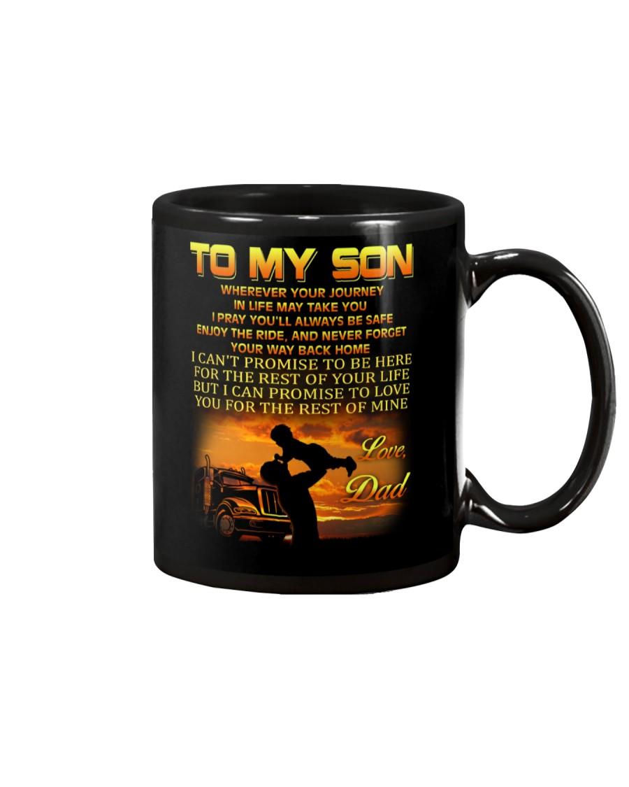 Trucker to my son mug Mug