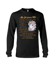 Faithful Partner True Love Wife Unicorn Long Sleeve Tee thumbnail
