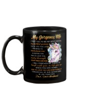 Faithful Partner True Love Wife Unicorn Mug back