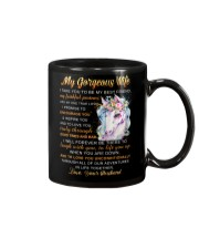 Faithful Partner True Love Wife Unicorn Mug front