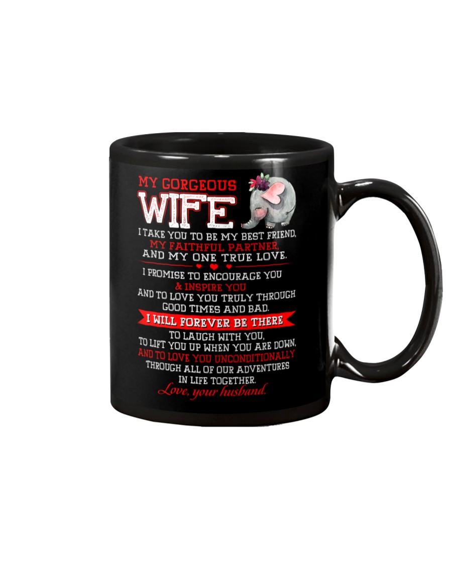Faithful Partner True Love Wife Elephant Mug Mug