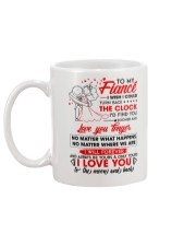 Family Fiance Be Yours Clock Moon Mug back
