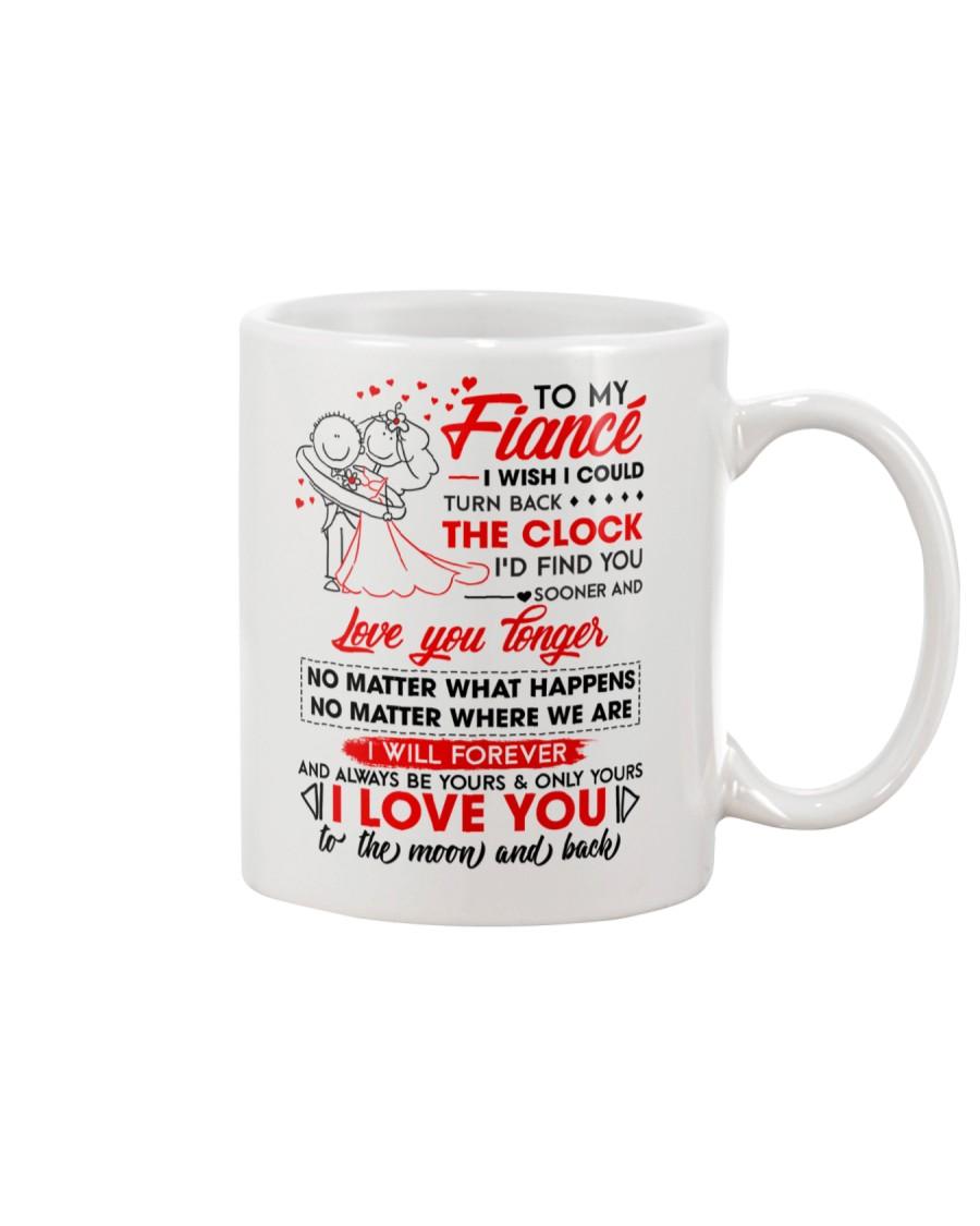 Family Fiance Be Yours Clock Moon Mug