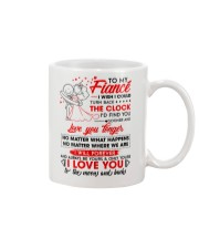 Family Fiance Be Yours Clock Moon Mug front