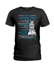 Viking You Are Strong Mom  Ladies T-Shirt thumbnail