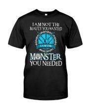 Shieldmaiden Beauty But Monster Classic T-Shirt thumbnail