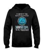 Shieldmaiden Beauty But Monster Hooded Sweatshirt thumbnail