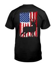 Hunting American flag Classic T-Shirt thumbnail