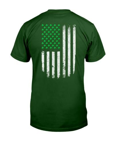 Patrick's day Flag shirt