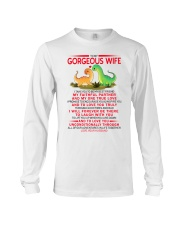 Dinosaur Faithful Partner True Love Wife  Long Sleeve Tee tile