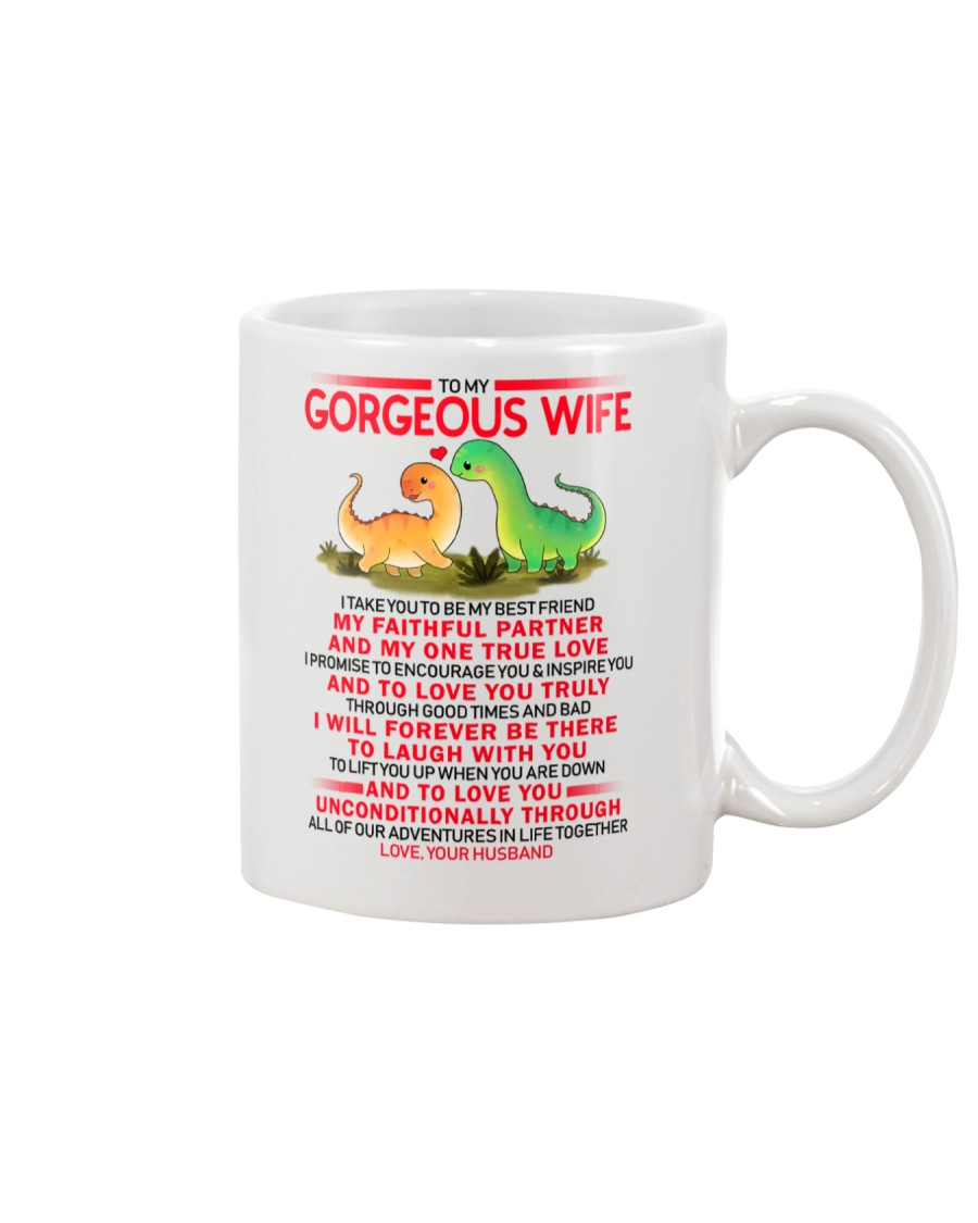 Dinosaur Faithful Partner True Love Wife  Mug
