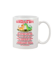Dinosaur Faithful Partner True Love Wife  Mug front