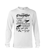 Fishing Daughter Dad The Rest Of Mine Long Sleeve Tee thumbnail