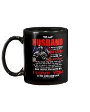 Veteran Husband Clock Ability Moon Mug back