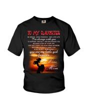 Daughter Mom Be Brave Mug Youth T-Shirt thumbnail