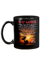 Daughter Mom Be Brave Mug Mug back