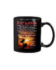 Daughter Mom Be Brave Mug Mug front