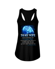 Wolf I Love You Wife Ladies Flowy Tank thumbnail