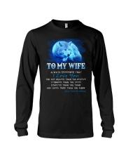 Wolf I Love You Wife Long Sleeve Tee thumbnail