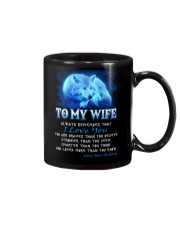 Wolf I Love You Wife Mug front