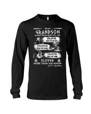 Always Remember Grandson Viking Long Sleeve Tee thumbnail