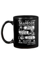 Always Remember Grandson Viking Mug back