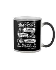 Always Remember Grandson Viking Color Changing Mug thumbnail