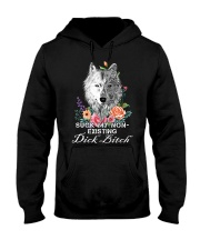 Suck My Non-Existing Dick Bitch Wolf Hooded Sweatshirt thumbnail