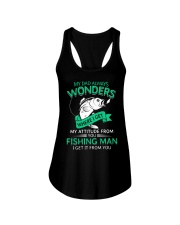 Fishing Dad Attitude Ladies Flowy Tank thumbnail