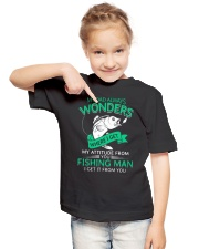 Fishing Dad Attitude Youth T-Shirt lifestyle-youth-tshirt-front-2
