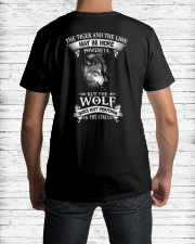 The Wolf Does Not Perform In The Circus  Classic T-Shirt lifestyle-mens-crewneck-back-1