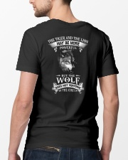 The Wolf Does Not Perform In The Circus  Classic T-Shirt lifestyle-mens-crewneck-back-5