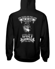 The Wolf Does Not Perform In The Circus  Hooded Sweatshirt thumbnail