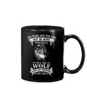 The Wolf Does Not Perform In The Circus  Mug thumbnail