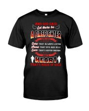 And God Said Let There Be A Firefighter Classic T-Shirt front