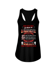 And God Said Let There Be A Firefighter Ladies Flowy Tank thumbnail