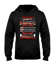 And God Said Let There Be A Firefighter Hooded Sweatshirt thumbnail