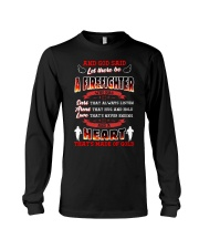 And God Said Let There Be A Firefighter Long Sleeve Tee thumbnail