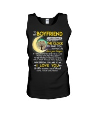 Reading Boyfriend Clock Ability Moon Unisex Tank thumbnail